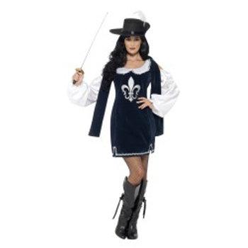 Musketeer Female Costume 43416 S