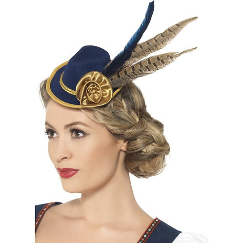 Authentic Bavarian Oktoberfest Mini Hat. 45399 S