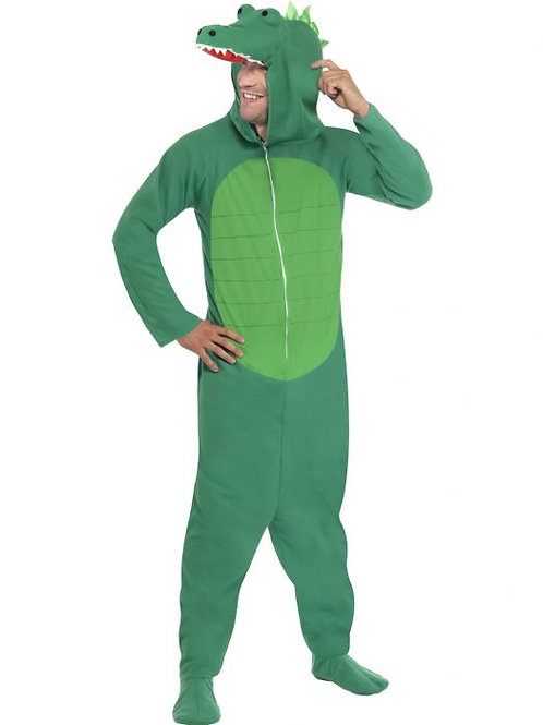 Crocodile Costume with Hooded All in One. 23631 S