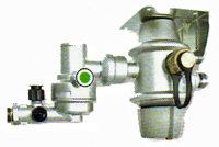 デユアルボンベ用  自動保安機能付き調整器