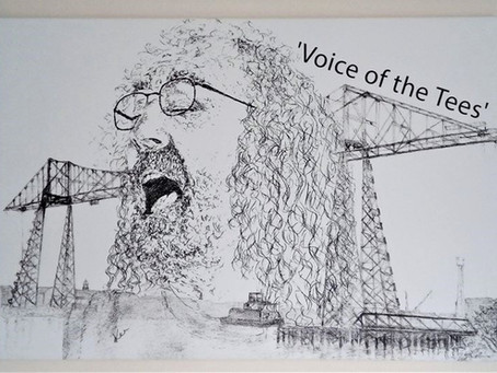 'Voice of the Tees' artwork on sale until August 2020!