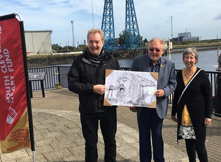 'Voice of the Tees' sketches raise £2064 for the South Cleveland Heart Fund