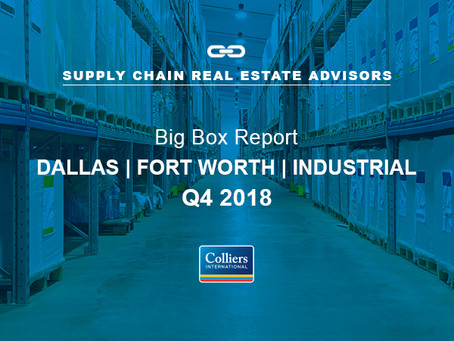 Dallas-Fort Worth Delivered 41 Big-Box Buildings In 2018!