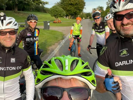 New Lady member recommends Darlington Cycling Club