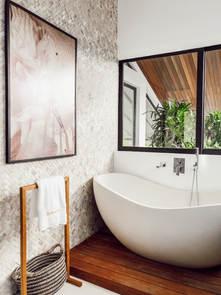 Bath upstairs