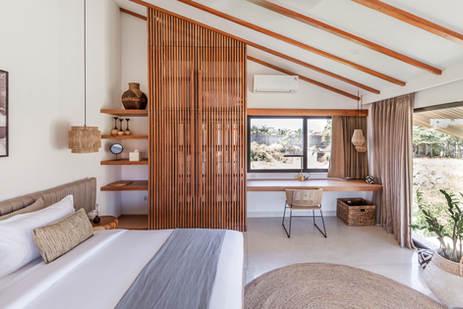 Bedroom and desk