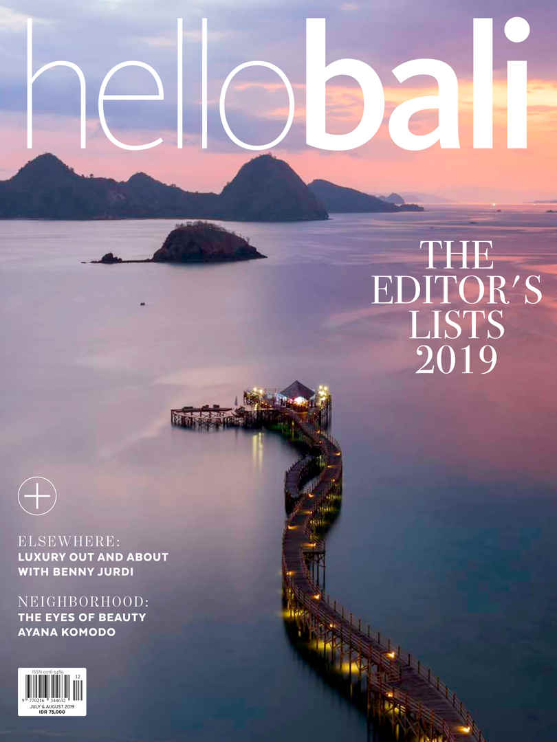 Hello Bali THE EDITOR'S LISTS 2019