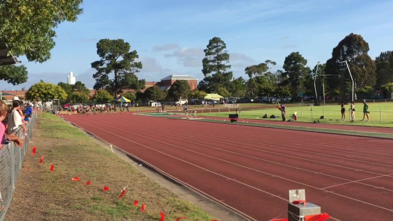 Men's 100m dash invitational (Heat 1) -12/01/2019