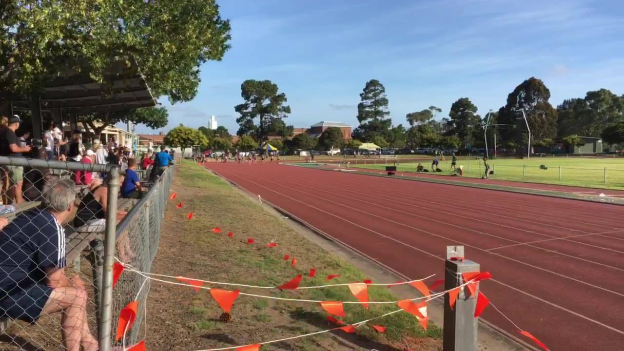 Women's 100m dash invitational (Heat 2) -12/01/19
