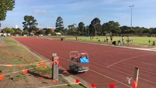 Men's 800m Heat 1 - 12/01/2019