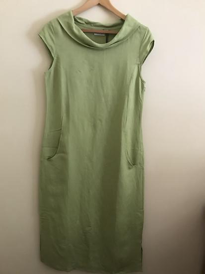 Foil Linen Dress