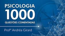 1.000 QUESTÕES COMENTADAS DE PSICOLOGIA