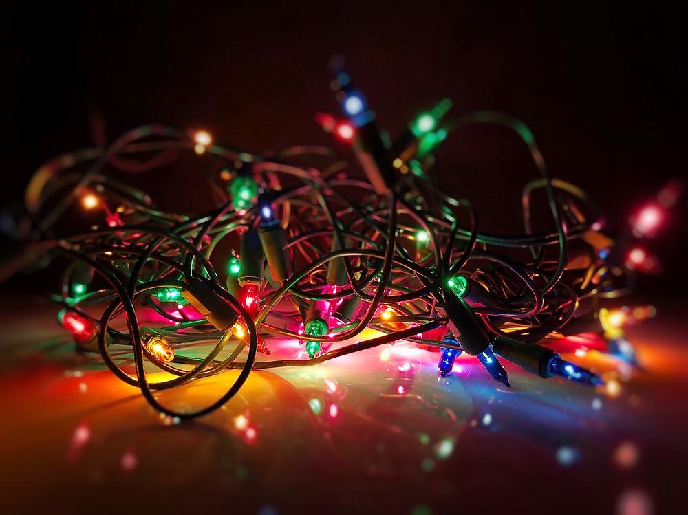 christmas lights tangled