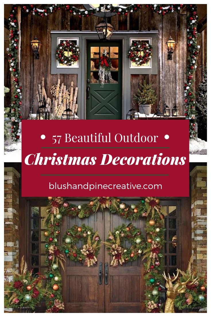 57 beautiful christmas decorations front porch
