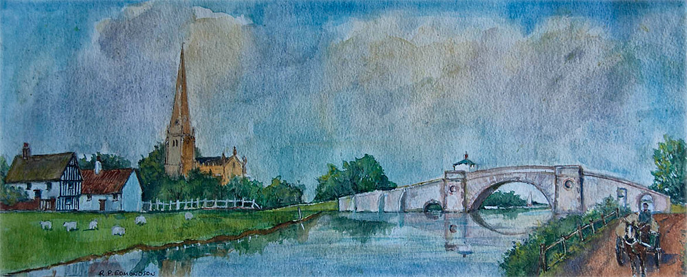 Ha'penny Bridge Lechlade - copyright Reg Edmondson