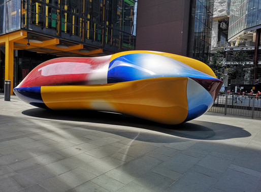 Art in the City of London streets