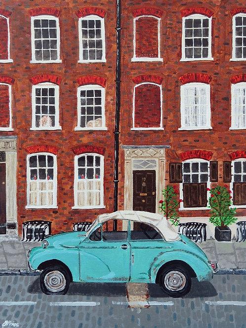 Elder Street A5 fine art greetings card