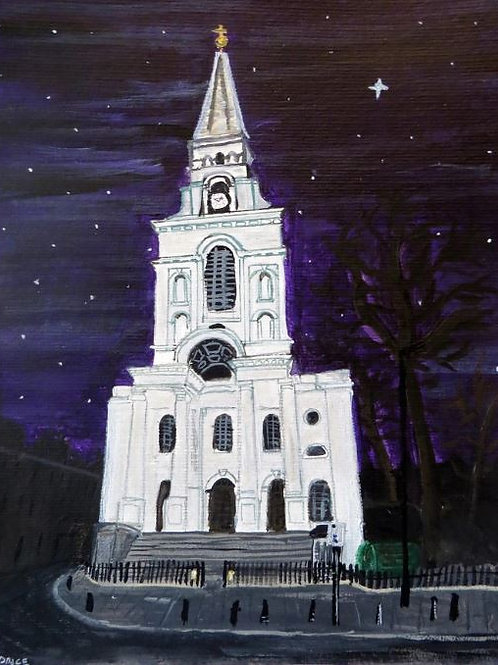 Christ Church, Spitalfields - Christmas card