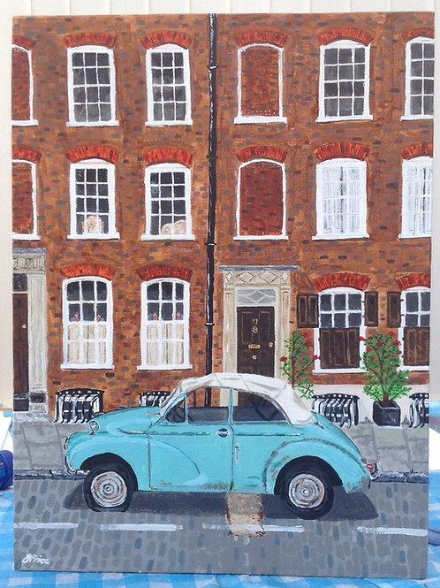 Elder Street, Spitalfields - limited edition print