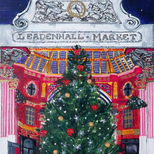 Leadenhall Market at Christmas