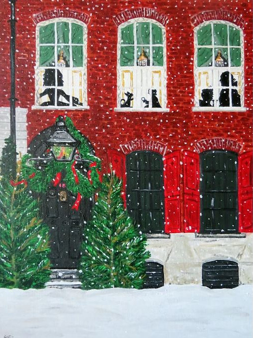 Dennis Severs House at Christmas