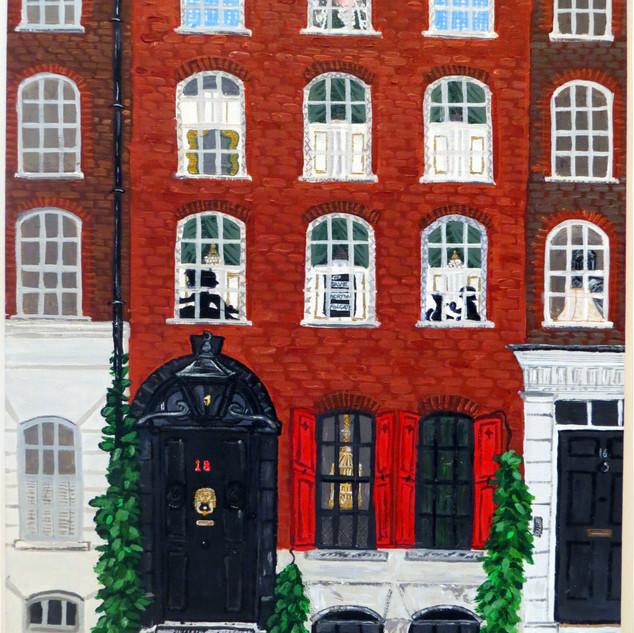 Dennis Severs house - close up - Nov 201
