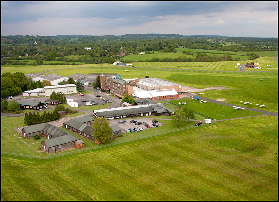Redhill Aerodrome - photo copyright Peter Park