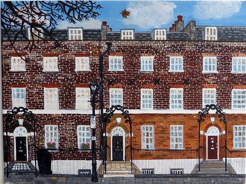 Highbury Place, North London - limited edition print