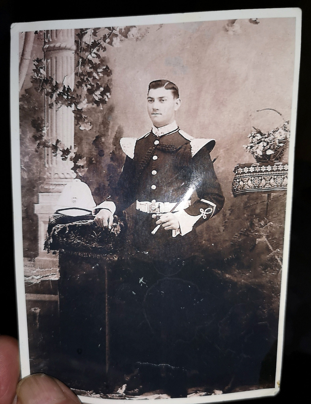 Roy's grandad's brother, Ernest John Hollowbread