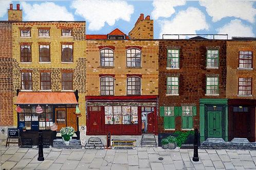 Fournier Street, Spitalfields, E1