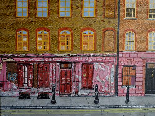 Princelet Street, Spitalfields, E1