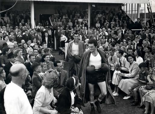 Freddie Mills & Stewart Granger visited Dagenham