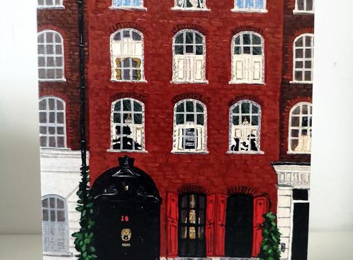 Spitalfields - new A5 art cards