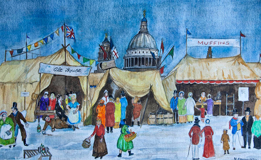 Frost Fair - copyright Reg Edmondson