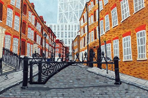 Folgate Street, E1 - limited edition print