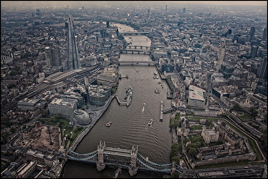 Tower Bridge - view from above - copyright Peter Park