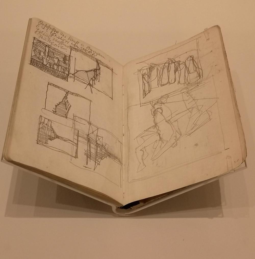 Egon Schiele notebook