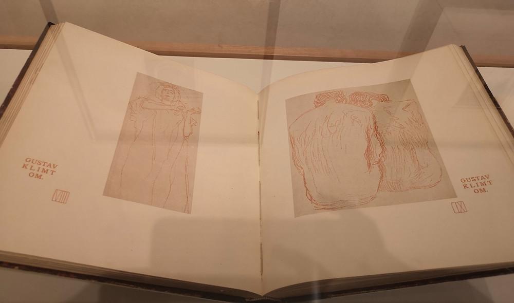 Gustav Klimt sketch book