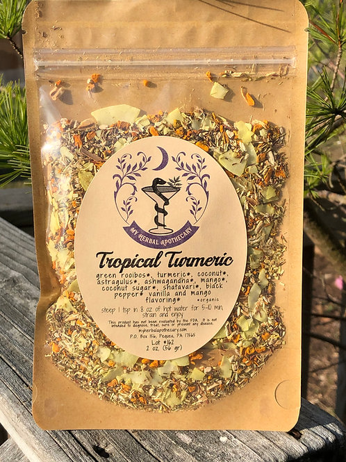Tropical Turmeric Tisane