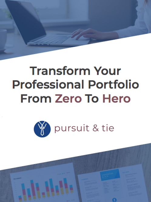 Professional Portfolio Guide 101