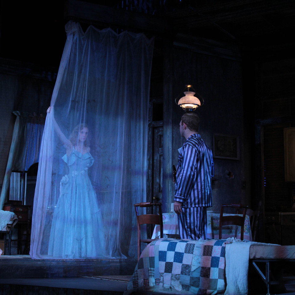 Streetcar Blanche closes curatin Stanley