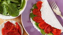 Dicas de recheios vegetarianos para a sua tapioca!