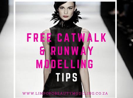 Free Catwalk Runway Tips