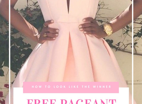 Free Pageant Dress Code Tips