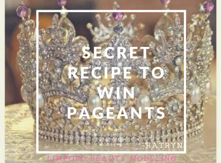 The Secret Recipe to Win a Pageant