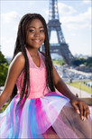 Thato at our Eiffel Tower shoot June 2019