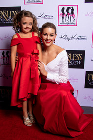 Claudine with Rolene Strauss Miss World 2014 at our 2019 Graduation Show