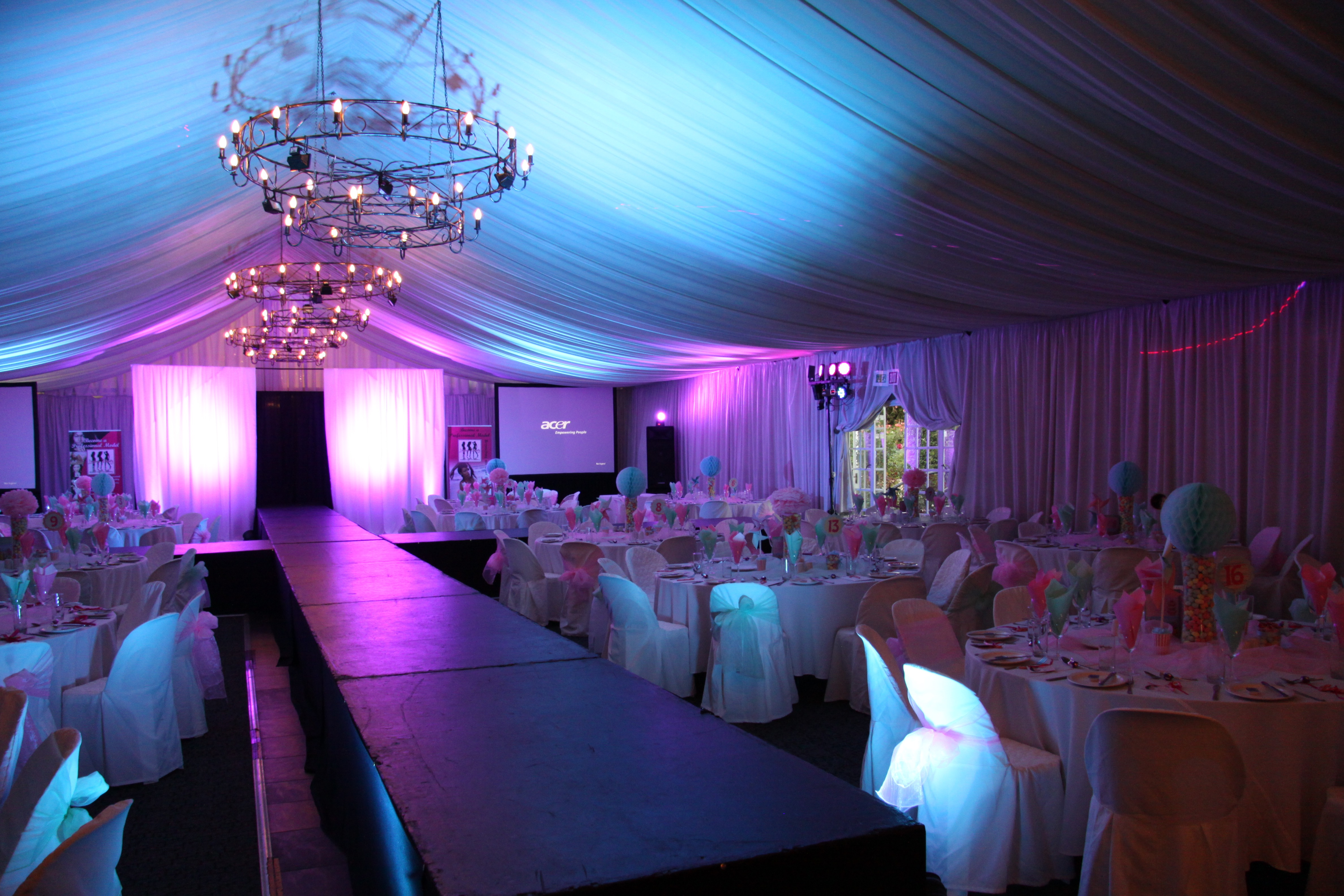 Our Stunning Set Up