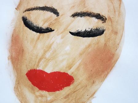 Portraits des maquillées : laisser des traces