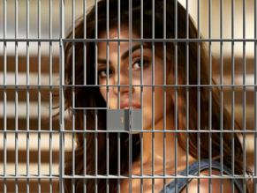 Rhea Chakraborty Behind Bars
